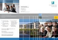 Marketing and International Business B.Sc. - Fachhochschule Koblenz