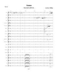 Page 1 Anna SÜCOHd SdltlOn Andreas Zhibaj Score Flute l Flute 2 ...