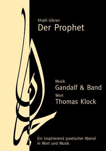 Der Prophet - klock.coMsult