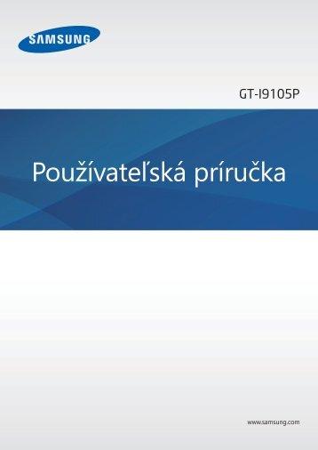 slovenský manuál (pdf, 6.62 MB)