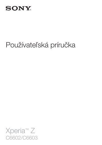 slovenský manuál (pdf, 2.26 MB)