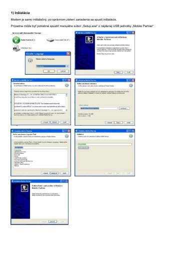 Návod na inštaláciu modemu Huawei E173 - OS Win (pdf, 391.54 KB)
