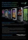 Hoge cashback bij een nieuwe BlackBerry 7 smartphone! - Mobistar - Page 2