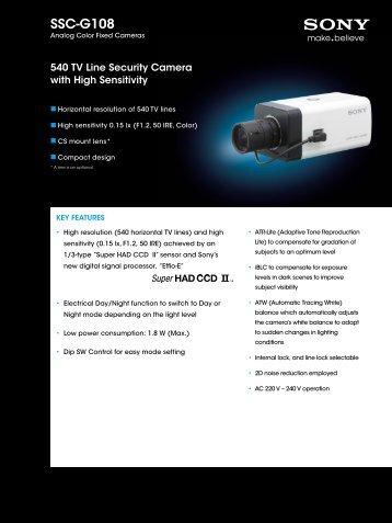 SSC-G108 - Elvia CCTV