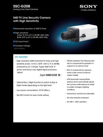 SSC-G208 - Elvia CCTV