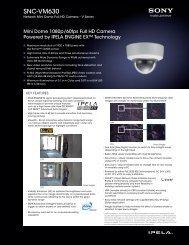 SNC-VM630 - Sony