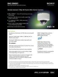 SNC-ZM551 - Elvia CCTV