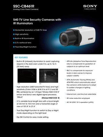 SSC-CB461R - Elvia CCTV