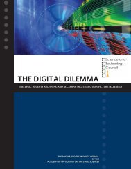 the digital dilemma-issues in archiving