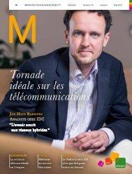 Tornade idéale sur les télécommunications - Mobistar