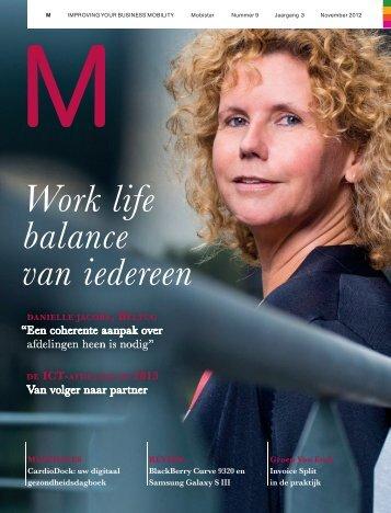Work life balance van iedereen - Mobistar