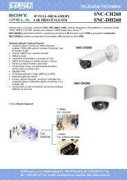 Prospekt (PDF) - Elvia CCTV