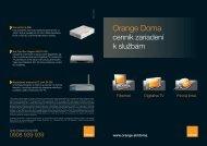 Orange Doma - Orange Slovensko, as