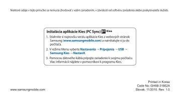 slovenský manuál (pdf, 2.25 MB)