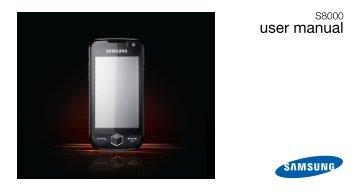 S8000 User Manual - Virgin Mobile
