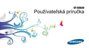 slovenský manuál (pdf, 2.6 MB)
