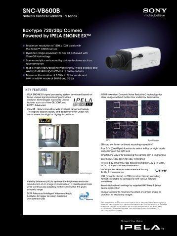 SNC-VB600B - Elvia CCTV