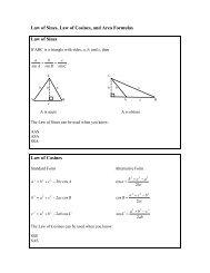 13 Law of Sine and Cosine Word Problem Practice Quiz
