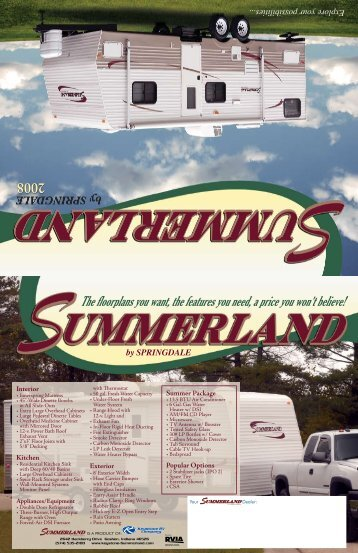 2008 Summerland - Pete's RV Center