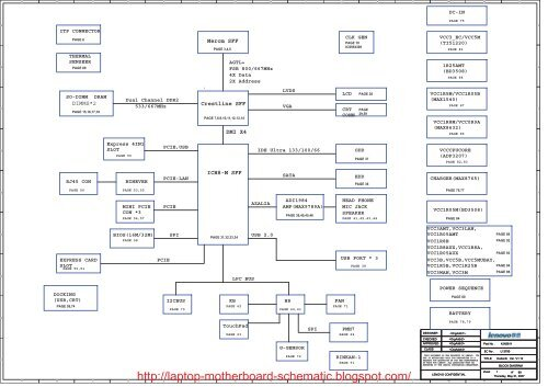 Motherboard Schematic   Wiring Diagram