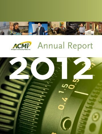 PDF of our Annual Report - Arlington Community Media, Inc.