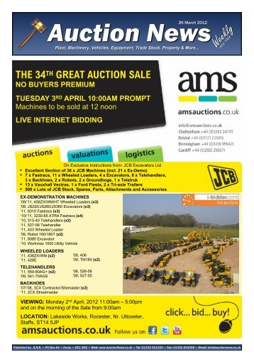 Auction News Mar 26 12 - Auction News Services