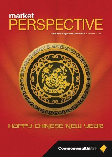 Market Perspective February 2013 - Commonwealth Bank