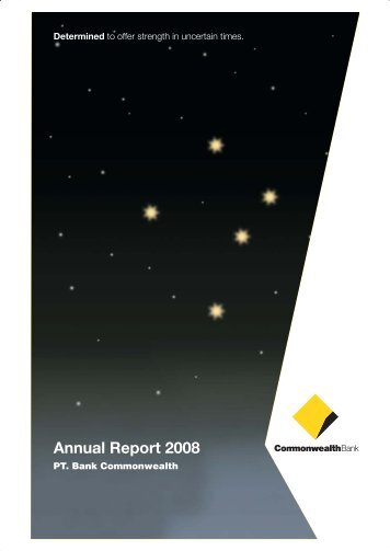 Annual Report 2008 - Commonwealth Bank