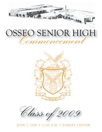 Commencement - Osseo Area Schools