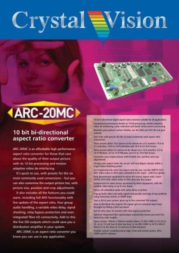 Crystal Vision: ARC-20MC brochure