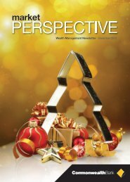 Market Perspective December 2012 - Commonwealth Bank