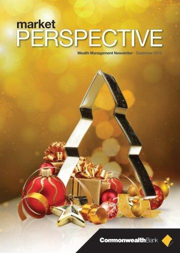 Market Perspective December 2012 - Commonwealth Bank