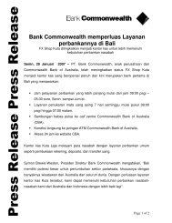 selengkapnya (dalam pdf) - Commonwealth Bank