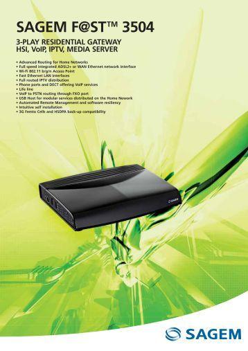 sagemcom f st 3864 user manual pdf