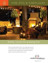 FIRE PITS & FIREPLACES - Les Foyers Mirabel