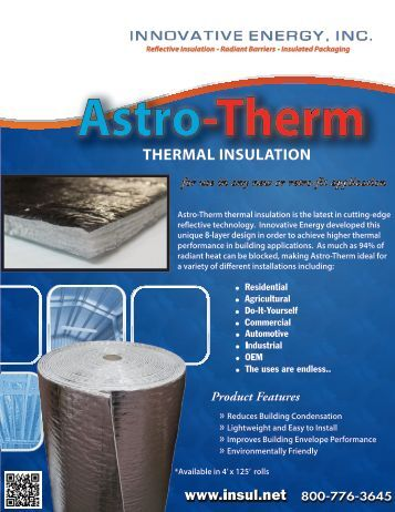 AstroTherm Thermal Insulation - Innovative Energy