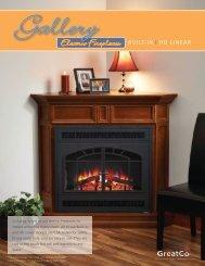 GreatCo. Electric Fireplace Brochure - Outdoor GreatRoom Co.