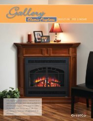 Electric Fireplaces - Outdoor GreatRoom Co.