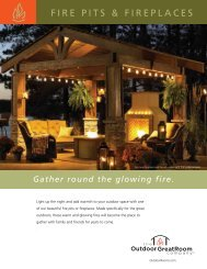 FIRE PITS & FIREPLACES - Wright Associates