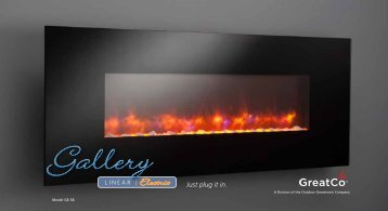Gallery - Linear Electric Fireplace Brochure single pgs - Outdoor ...