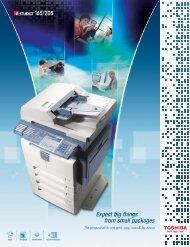View Specs - Office Supplies & Copiers