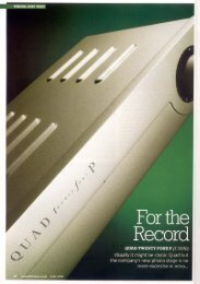 QC-24P Review; Hi Fi News June 2007 - meridian-audio[.info]
