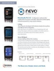 Nevo Widgets - Ncms