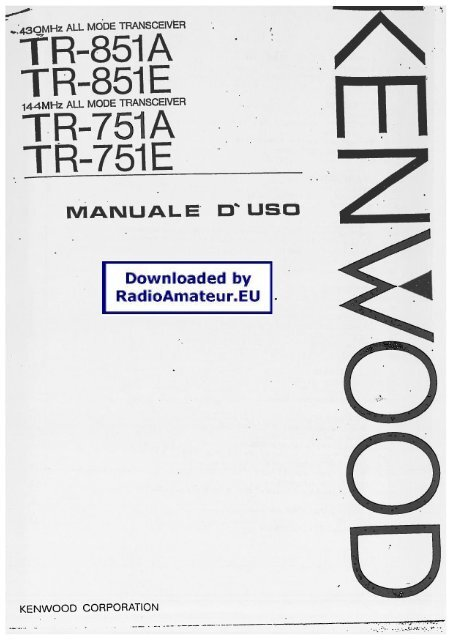 Kenwood 751e manual