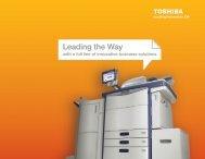 Toshiba Full Line Brochure - Toshibamedia.com toshibamedia