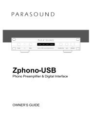 Connecting your Zphono•USB - BMB Electronics BV