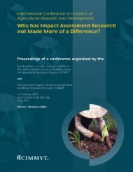 Impact of Agricultural Research in Bangladesh - Agecon Search ...