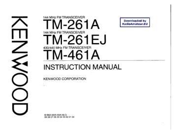 Kenwood tm 261   ebay.