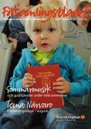 Församlingsbladet 2011-08-03 - Mild Media