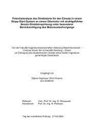 D i s s e r t a t i o n - bei Duepublico - Universität Duisburg-Essen